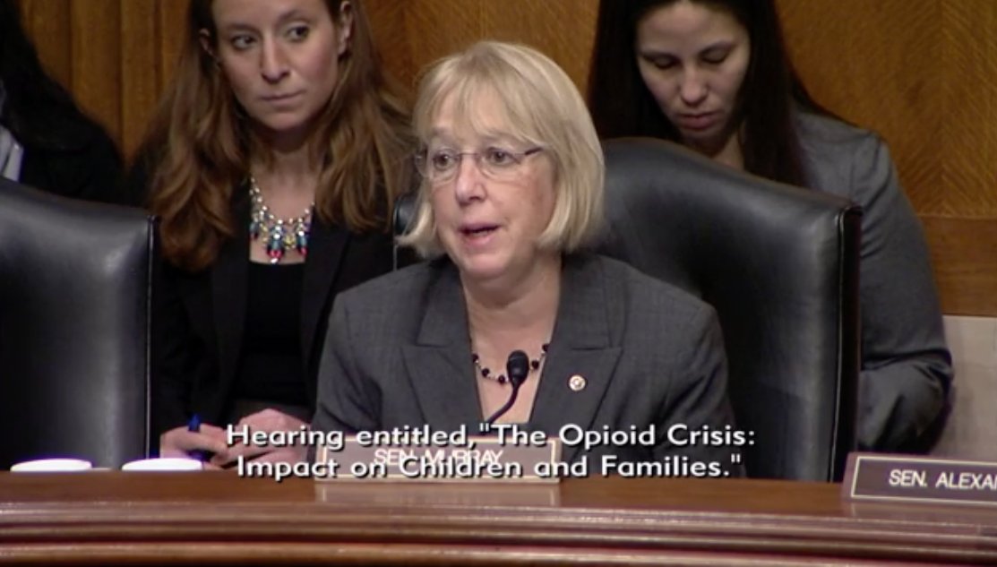 Committee's Ranking Member Sen. Patty Murray, D- Wash. /Photo: Senate Committee on Health, Education, Labor and Pensions<p></p>