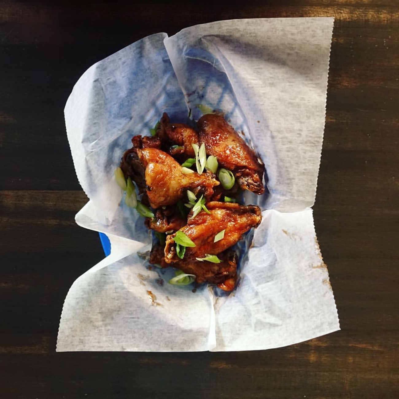 Hapa Wings: tossed in nuoc mam & honey / Image courtesy of Quan Hapa // Published: 1.10.17