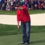 VIDEO | Heckling fan challenged by golf pro to putt it out