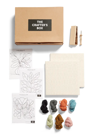 "<a  href=""https://www.nordstrom.com/s/the-crafters-box-punch-needle-wall-art-kit-with-digital-video-workshop/5769543?origin=keywordsearch-personalizedsort&breadcrumb=Home%2FAll%20Results&color=400"" target=""_blank"">The Crafter's Box Punch Needle Wall Art Kit</a>{&nbsp;}($85) Older kids will love this craft kit and adults will definitely be tempted to join in the ""punching"". The final product is absolutely gorgeous!{&nbsp;}(Image: Nordstrom)"