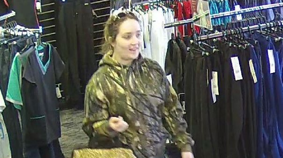 WANTED - Police in Paducah search for woman who stole from clothing store.jpg