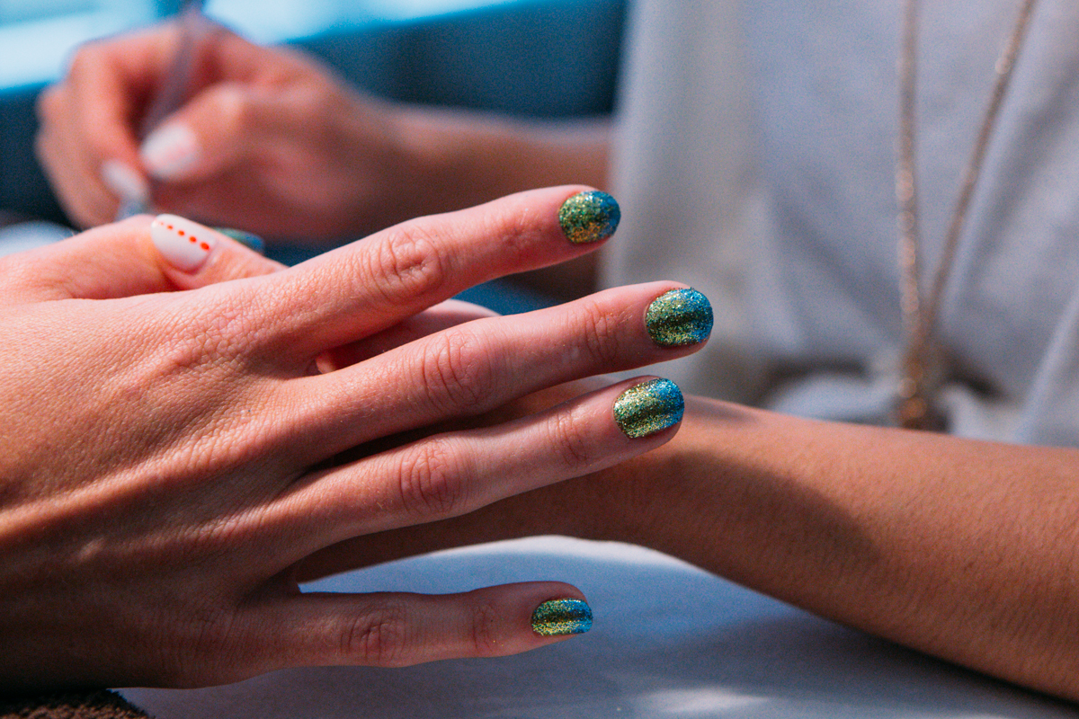 Anyone can wear green and blue, but it takes a true fan to go the extra mile with: The Fanicure. Gene Juarez Salons and Spas are bringing back fanicures this season with three designs: ombre, French or alternating, priced from $40-$60. Pick your closest salon and book yours, then show off online using #gjfanicure! (Image: Joshua Lewis / Seattle Refined)