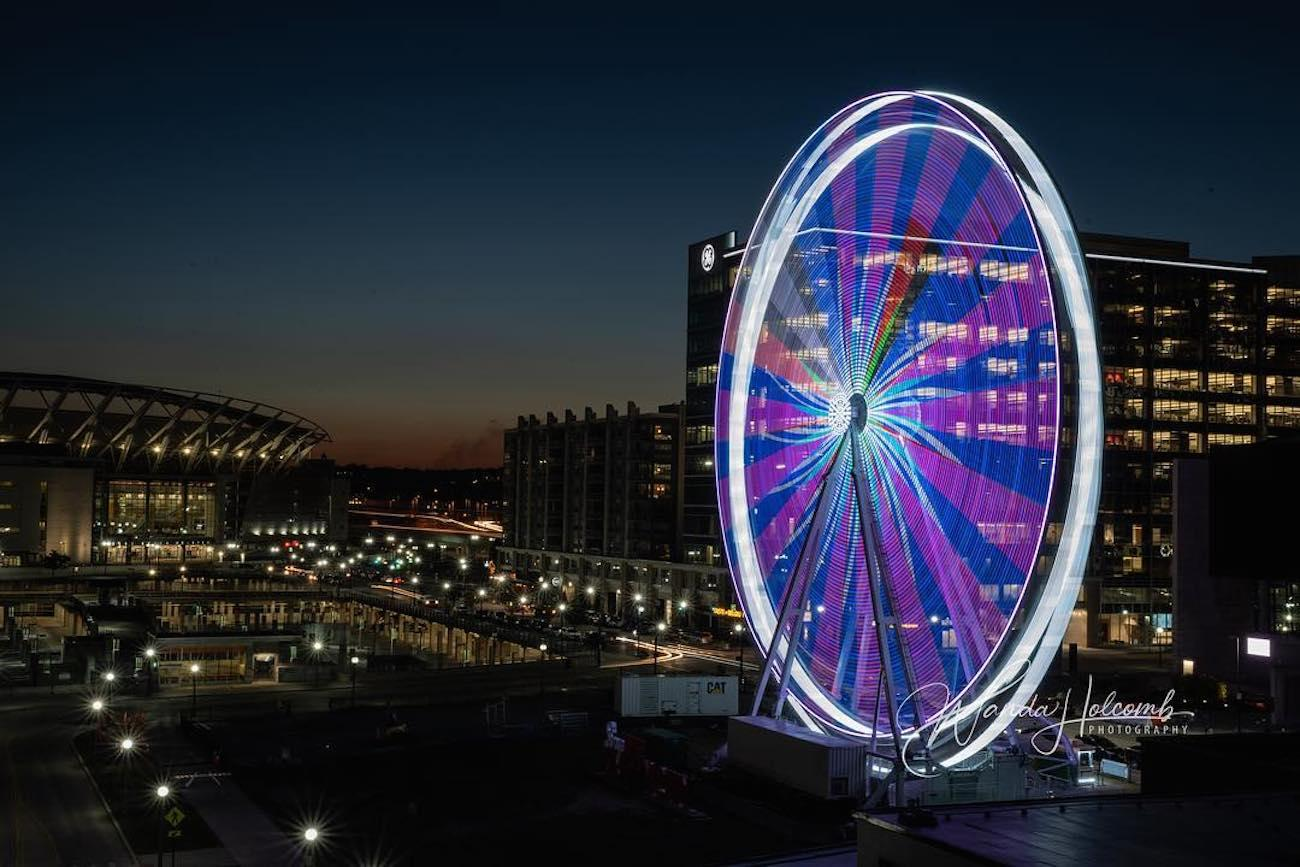 The Beauty Of The Riverfront S Ferris Wheel Cannot Be