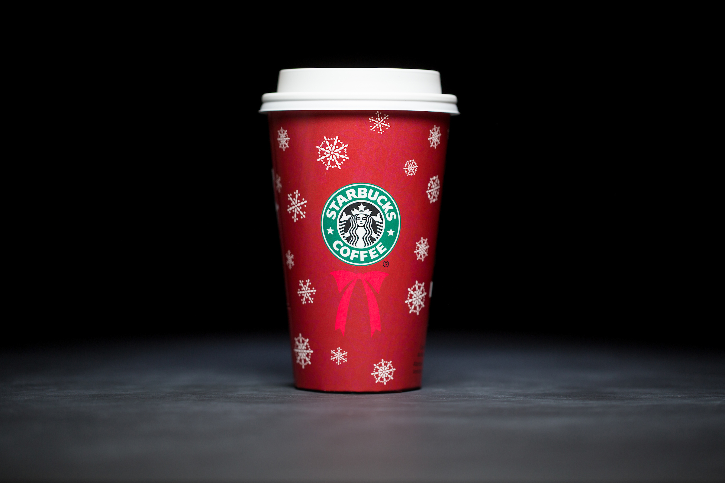 2004: For 20 years, Starbucks have released a range of holiday cup designs, most of them based around their world famous red cup. It's not easy to find the very first Starbucks holiday cups, which made their debut in stores in 1997. Few were saved, and electronic design files were lost in an earthquake in 2001. Even an Internet search is unyielding, with the cups having made their arrival long before the first selfie. But, we have them here! Click on for a photos of all 20 holidays cup designs. (Image: Joshua Trujillo/Cover Images)