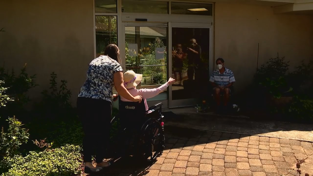 """In what phase will residents of nursing homes be allowed to have salon services?"" a viewer asked News 13's I-Team Coronavirus Help Desk.(Photo credit: WLOS staff)"