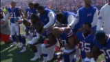Former NFL players, police and community weigh in new national anthem policy