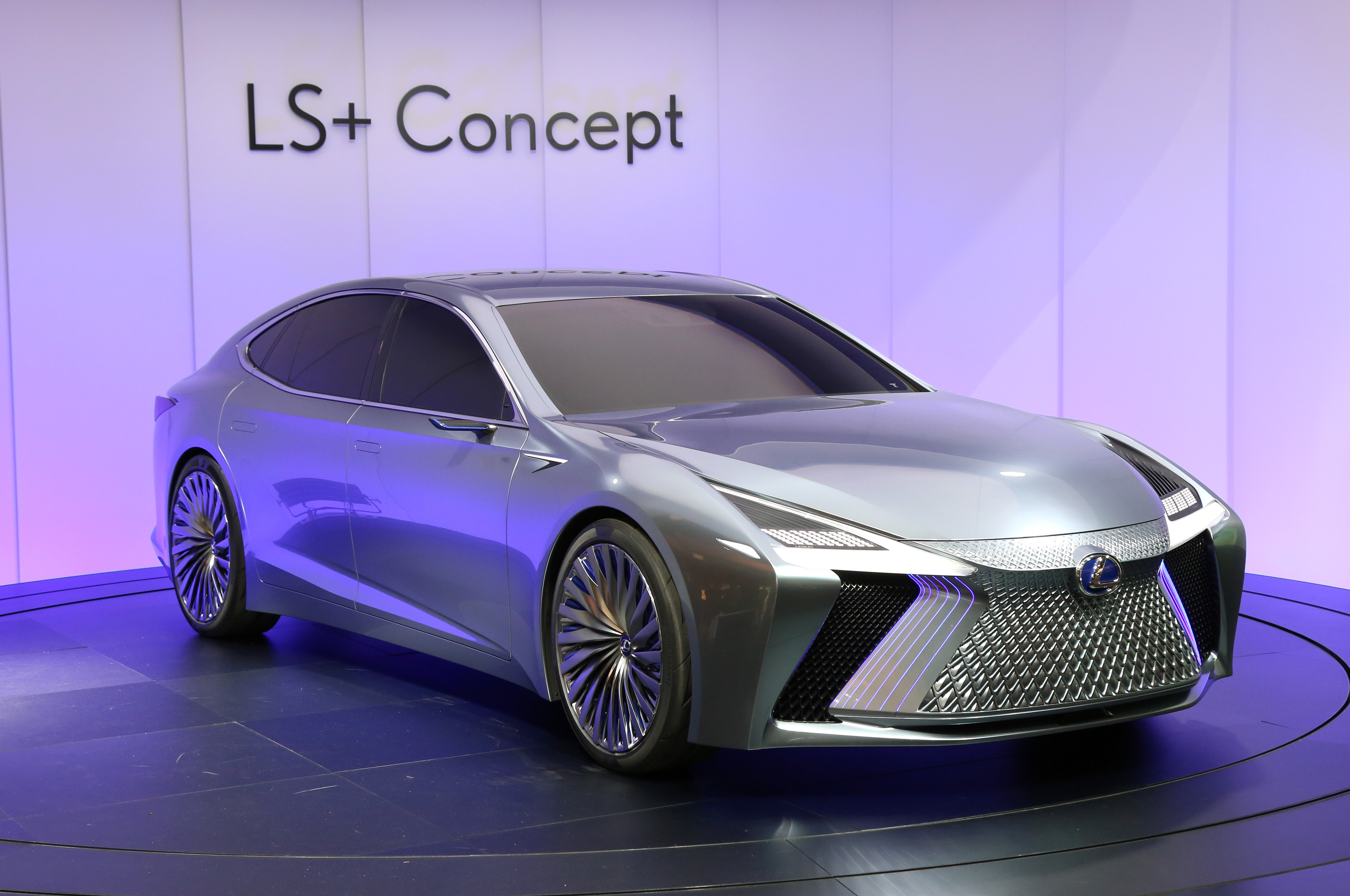 Tokyo Motor Show 2017  Featuring: Lexus LS+ Concept Where: Tokyo, Japan When: 25 Oct 2017 Credit: Yukio Tomita/Future Image/WENN.com  **Not available for publication in Germany**
