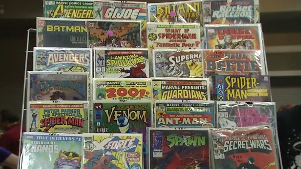 Comic book lovers find collectibles