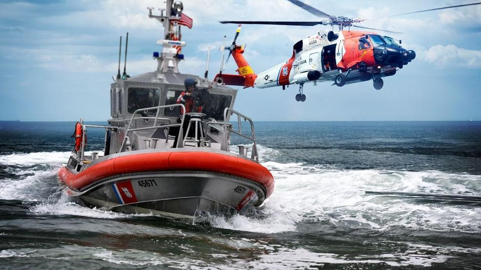 U S Coast Guard Responds To Reports Of 2 People On