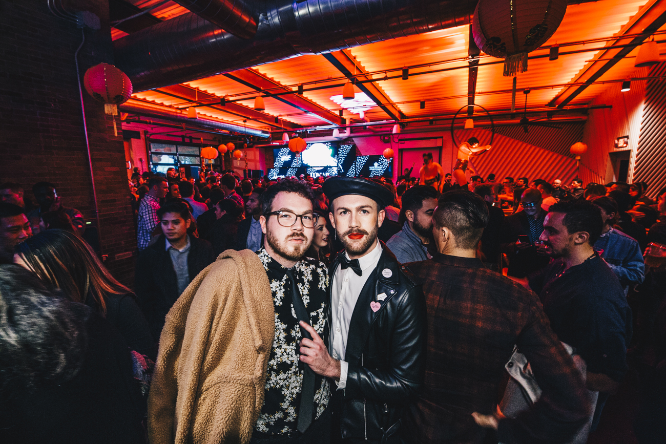 Travis Sallee and Sammy Matson /{ }Image: Catherine Viox // Published: 2.3.19