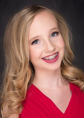 Marin Gray, Miss Oregon Junior High 2017. (Photo courtesy Louise Ungerman Photography)