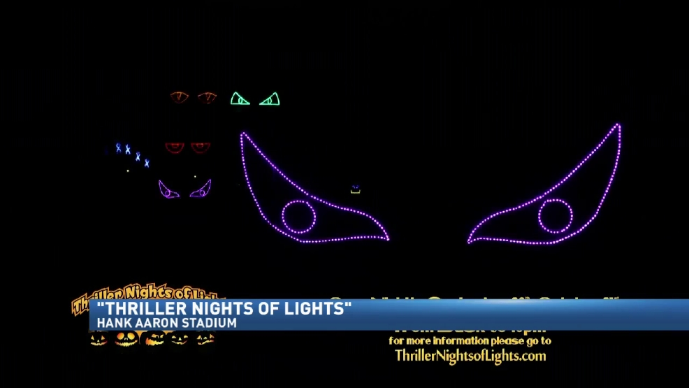 Thriller Nights of Lights' opens Friday at the Hank | WPMI