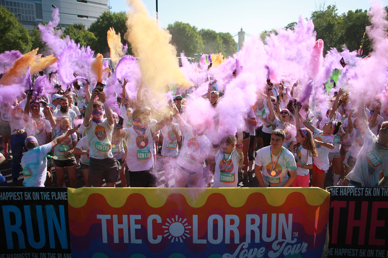 The Color Run is held around the country, and there's still plenty of time to start training Cincinnati's event. / WEBSITE: thecolorrun.com/locations/cincinnati / Image Lacey Keith // Published: 4.7.20