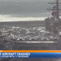 U.S. Navy aircraft crashes into Pacific Ocean with 11 on board