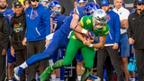 No. 25 Boise State beats Oregon 38-28 in Las Vegas Bowl