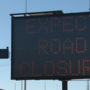 Complete closure of eastbound and westbound lanes of I-10 Sunday for electrical work