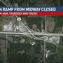 Resurfacing to disrupt Midway interchange for two nights