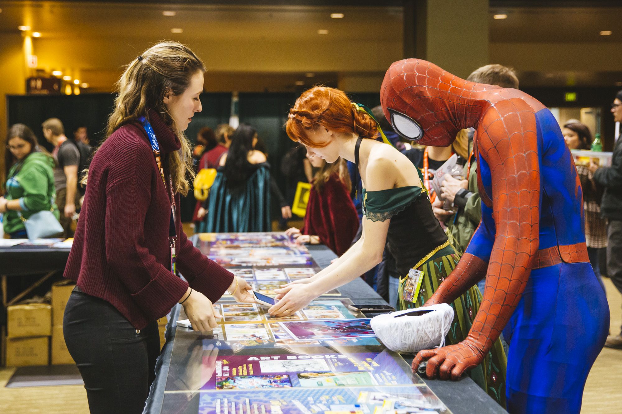 <p>Emerald City Comic Con is the largest comic book and pop culture convention in the Pacific Northwest. Thousands come to the Washington State Convention Center in Seattle for 4 days of cosplay, comic books, celebrities, panels and more. This year, they're expecting upwards of 95,000 people! Today, (March 15, 2019) marks the halfway point of ECCC. (Image: Sunita Martini / Seattle Refined){&nbsp;}</p>
