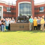 Perry High School receives new panther statue from Class of '61