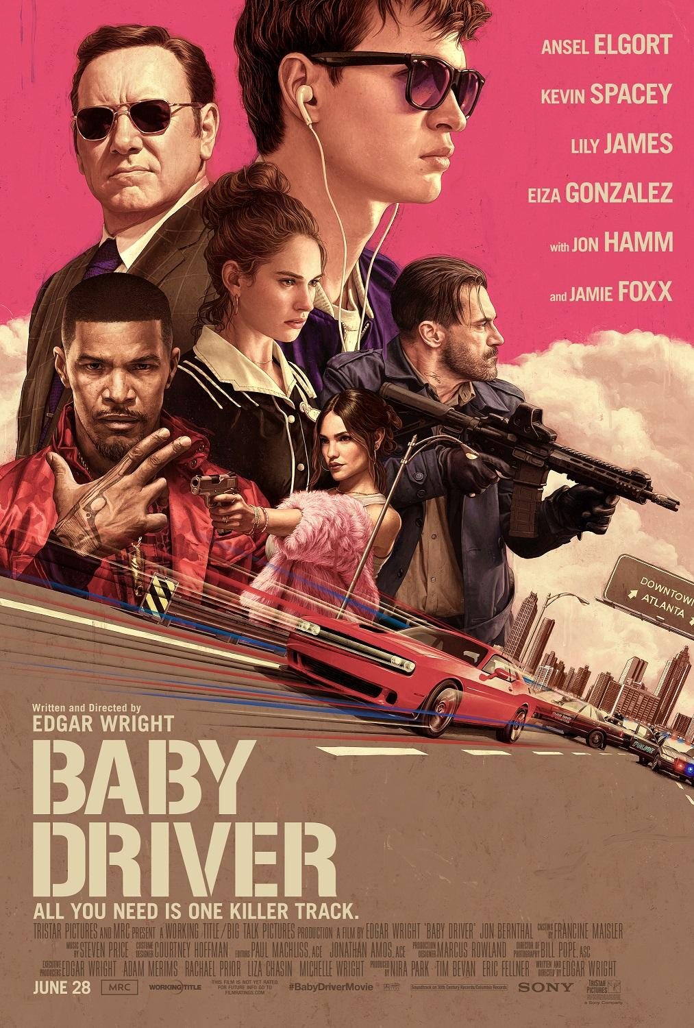 """Baby Driver"" Courtesy: Sony"