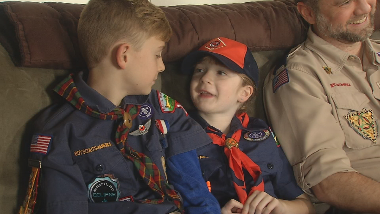 """My friends were a little surprised and they were all asking me the same question, 'How are there girls allowed when it's called Boy Scouts?'"" Which is why Clyde Smith believes one more change needs to be made: ""It should just be Scouts now,"" he said. (WLOS)"