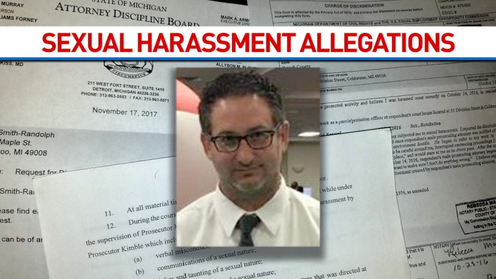 attorney harassment michigan sexual