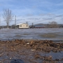 Ohio River overflows its banks in Mason County