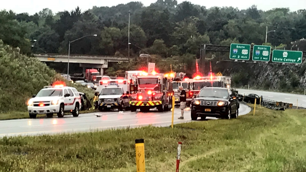 Man killed in crash that shut down Route 322 in State