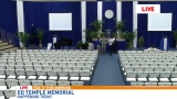 Tennessee State University coach Ed Temple memorial service held today