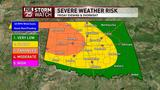 Chance for severe weather could dampen weekend plans