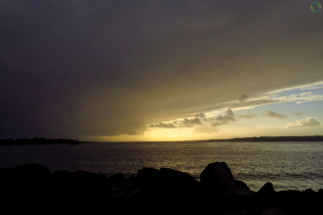 """Rain Clouds At Last!"" Debbie Tegtmeier said of rain clouds on the horizon in Winchester Bay on October 10, 2017.Share YOUR videos & photos #LiveOnKVAL at BURST.com/KVAL"