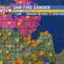 Red flag warning issued for heightened fire danger