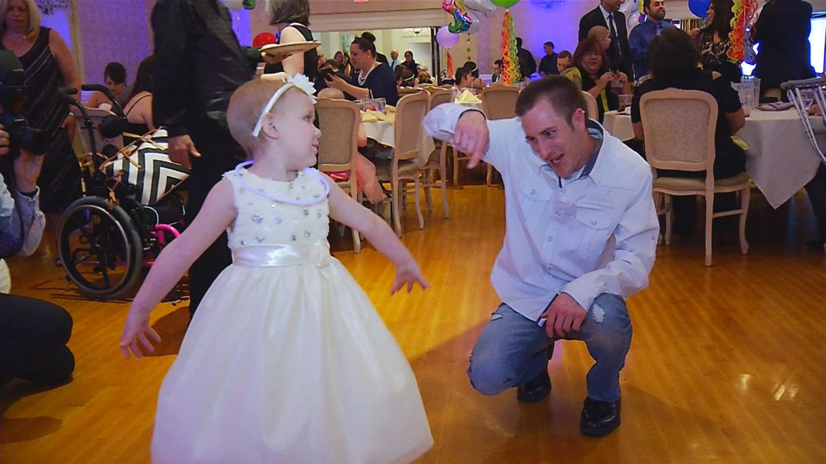 The first-ever Family Prom was put on by the Tomorrow Fund for pediatric cancer patients at Hasbro Children's Hospital Thursday, May 11, 2017. (WJAR)