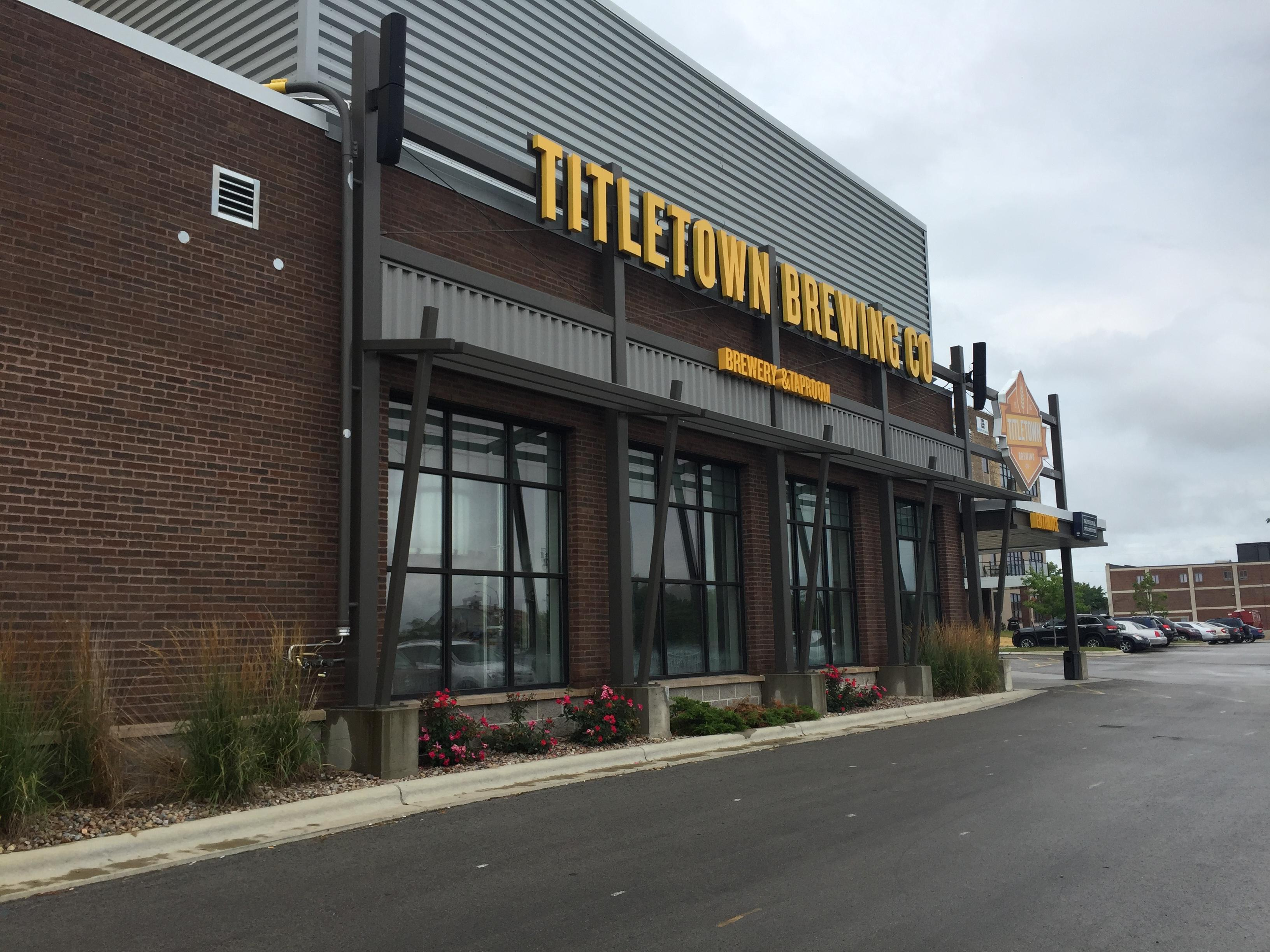 Titletown Brewing Company in Green Bay, August 3, 2017 (WLUK/Eric Peterson)