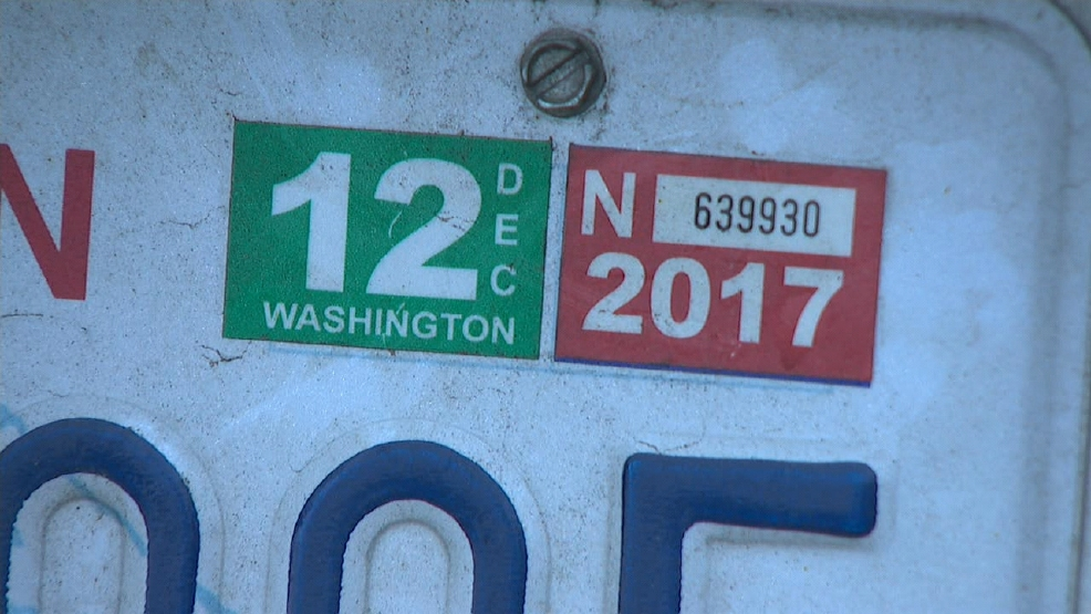 Washington state tabs cost