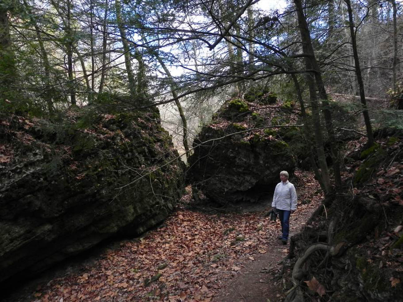 The major draw of the Earthstar Lodge, besides its interesting shape, is the easy access guests have to 18.5 miles of trails in the Highlands Nature Sanctuary. Hike through the imposing Rocky Fork Gorge and visit the Marble Cave and the Three Sisters before retreating into your own cozy dome to recharge for the night. Best of all, every stay at the Earthstar Lodge supports the Arc of Appalachia—a non-profit dedicated to saving Ohio's wildlands—so you can enjoy the land today while helping protect it for tomorrow. A dome house has 1 bedroom, 1 bath, and can sleep two guests. It takes an hour and half to get there from Cincinnati. / Image courtesy of Arc of Appalachia // Published: 5.21.19