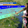 WEATHER WATCH | Wintry mix possible Monday