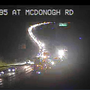 2 lanes on I-795 closed for emergency roadwork
