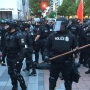 Police clear Westlake Center, make five arrests in Seattle May Day protests
