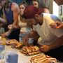 The Swamp celebrates with hot dogs while helping veterans