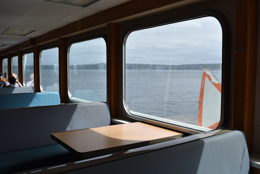 Seattle's many ferries means you can easily hop a ride for a quick day trip. (Image: Rebecca Mongrain/Seattle Refined)