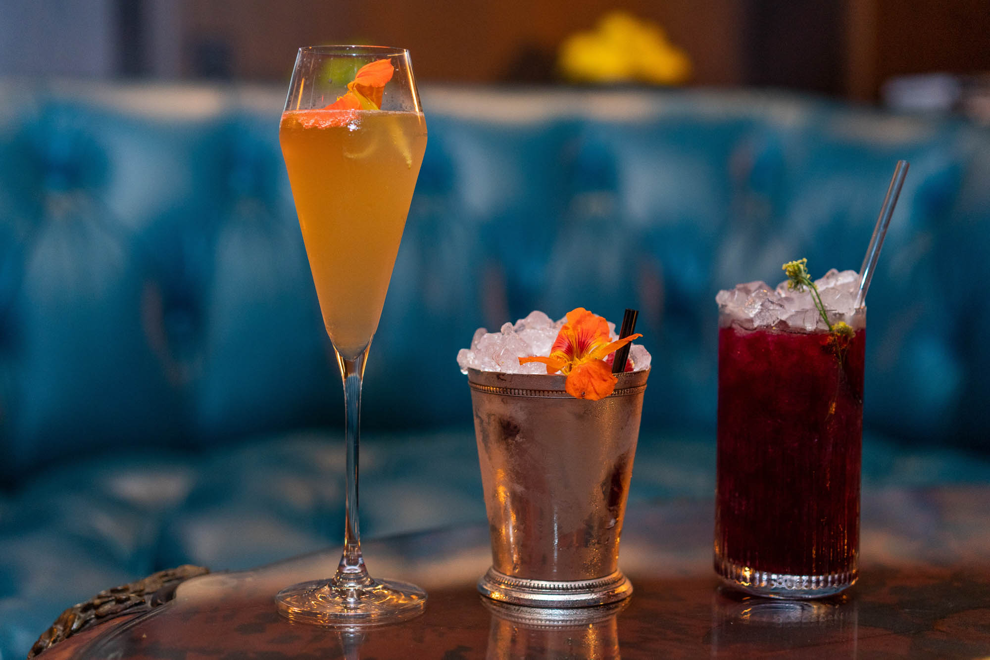 <p>Deep Dive into your new favorite cocktail lounge at the Amazon Spheres. (Image: Suzi Pratt / Seattle Refined)</p>