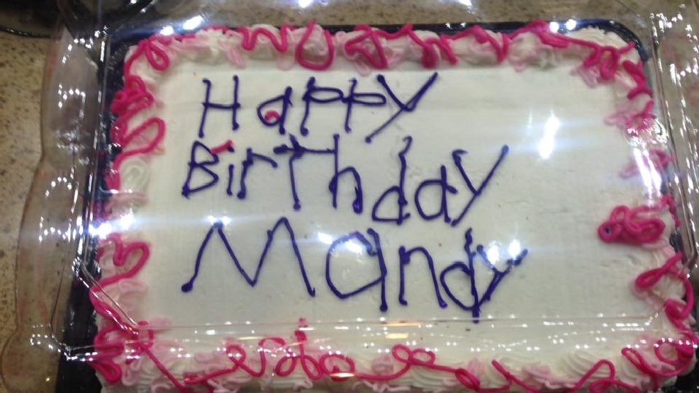 Photo Of Birthday Cake Decorated By Woman With Autism Goes Viral Wjla