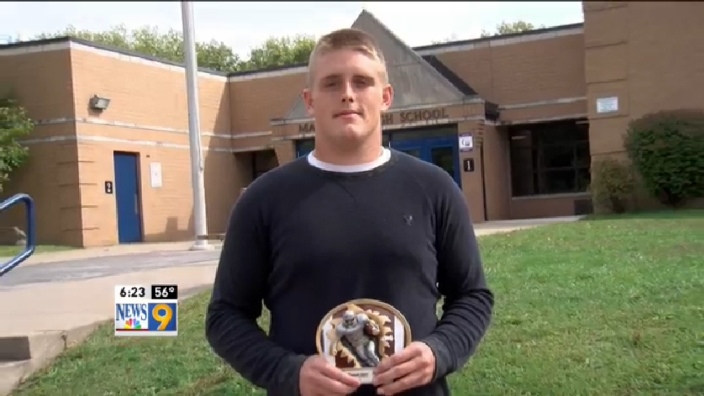 Week 7: Hancock County Chrysler Dodge Jeep Ram/WTOV9 POW, Kyle Ritz, Magnolia