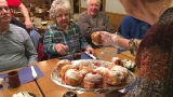 Dozens celebrate Fat Tuesday with Paczkis at Bay City's Krzysiak's House
