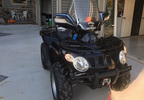 This ATV was stolen from a garage and shed in Harrison the weekend of Dec. 9-10, 2017.