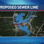 Concerns about proposed sewer line under Fish River