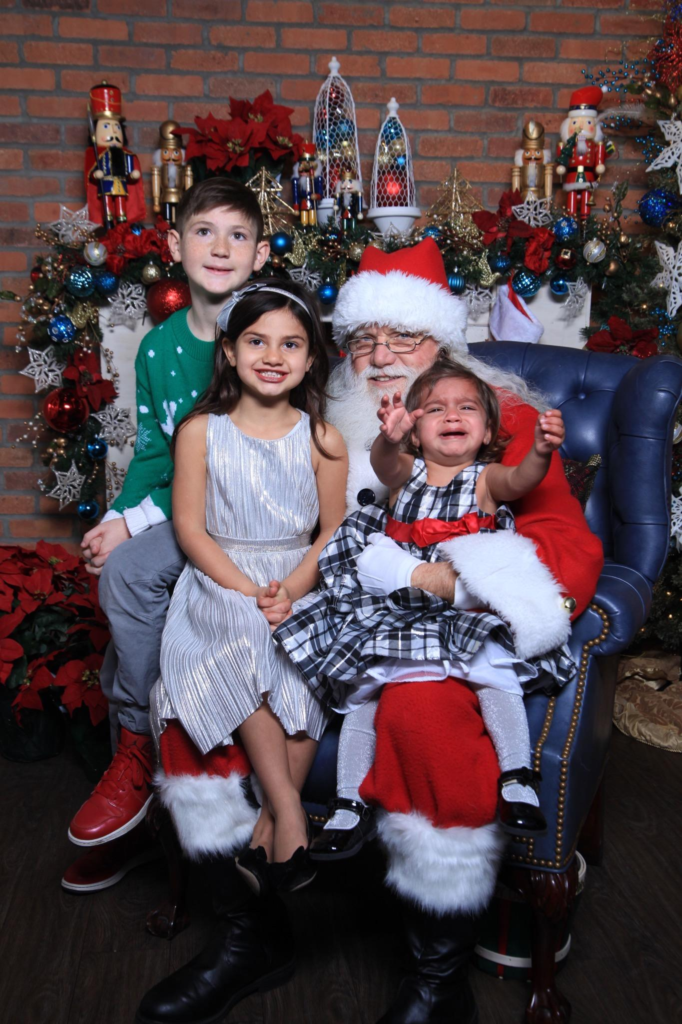 Ah, Santa Claus - the glorious bearded man in the big red suit who fulfills our kiddos holiday dreams and wishes.  Also doubling as, apparently, the scariest man alive. Grab a glass of eggnog, sit back and feast your eyes on these Santa pics gone wrong - or as I call them...realistic Santa pics. (Image: Tracy Chopra)