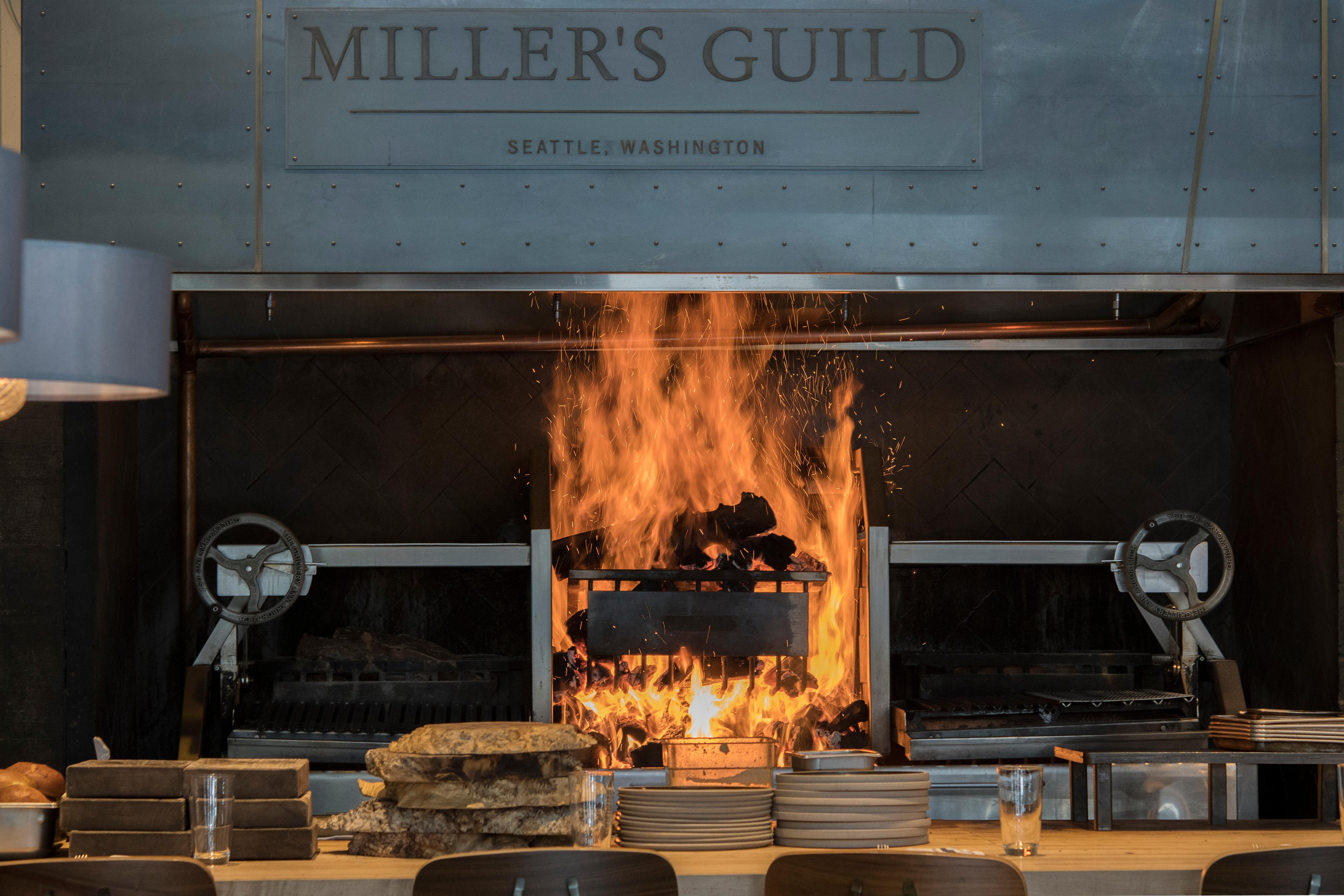 The 'Inferno' at Miller's Guild. Word off the street when they opened is that the grill station was so hot, the cooks aprons melted and they needed to switch to something less dangerous. (Image: Fire & Vine Hospitality)