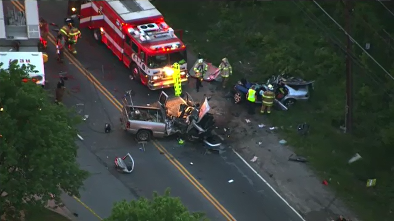 photos people injured critically in maryland car accident wjla photos 5 people injured 1 critically in bad car accident in maryland abc7